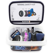 Sundstrom® Safety Mining Safety Kit M/L - Pkg Qty 3