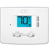 Supco 62100N Digital Wall Thermostat 2 Heat 1 Cool