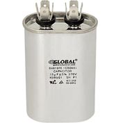 Oval Run Capacitor - 15mfd 370v