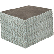 "DuraSoak™ Medium-Duty Absorbent Pads, 30.3 Gallon Capacity, 15"" x 19"", 100 Pads/Case"