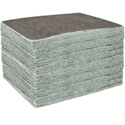 "DuraSoak™ Light-Duty Absorbent Pads, 20.1 Gallon Capacity, 15"" x 19"", 100 Pads/Case"