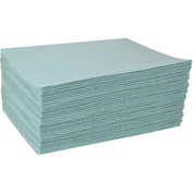 "DuraSoak™ Econo-Duty Absorbent Pads, 21.4 Gallon Capacity, 15"" x 19"", 100 Pads/Case"