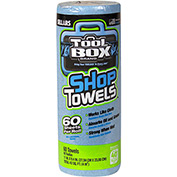Sellars® Toolbox® Z400 Blue Shop Towel Small Roll, 60 Sheets/Roll, 30 Rolls/Case 54400