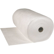 "Sellars® Oil Only Medium Weight Sorbent Rolls, 47 Gallon Capacity, 38"" x 144', 1 Roll/Bag"