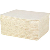 "DuraSoak™ Oil Only Heavy-Duty Absorbent Pads, 20.8 Gallon Capacity, 15"" x 19"", 100 Pads/Case"