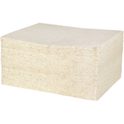 "DuraSoak™ Oil Only Medium-Duty Absorbent Pads, 16.4 Gallon Capacity, 15"" x 19"", 100 Pads/Case"