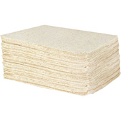 "DuraSoak™ Oil Only Econo-Duty Absorbent Pads, 20.8 Gallon Capacity, 15"" x 19"", 100 Pads/Case"