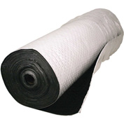 "Sellars® Railroad Track 58"" Sorbent Rolls, 105 Gallon Capacity, 58"" x 100', 1 Roll/Bag"