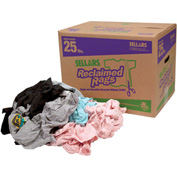 Sellars® Reclaimed Rags - Colored Knit/Polo, 25 Lbs. 99205