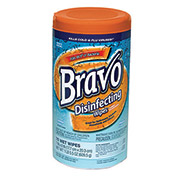 Sellars® Bravo® Disinfecting Wipes, 75 Wipes/Canister, 6 Canisters/Case - 99805