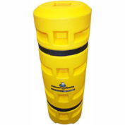 "Column Sentry® Column Protector, 6""x 6"" Square Opening, 14"" O.D. x 42""H, Yellow"