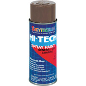 Hi-Tech Enamel 16 Oz. Gloss Brown 6 Cans/Case - 16-130