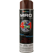 MRO Industrial Primer 20 Oz. Red Oxide Primer 6 Cans/Case - 620-1407