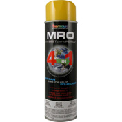 MRO Industrial Enamel 20 Oz. Safety Yellow 6 Cans/Case - 620-1419
