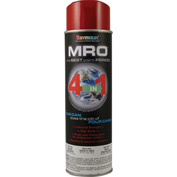 MRO Industrial Enamel 20 Oz. Safety Red 6 Cans/Case - 620-1423