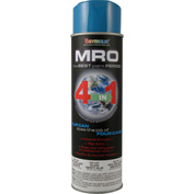 MRO Industrial Enamel 20 Oz. Safety Blue 6 Cans/Case - 620-1427