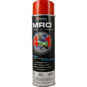 MRO Industrial Enamel 20 Oz. Safety Orange 6 Cans/Case - 620-1451