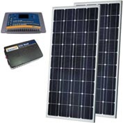 Sunforce 38938 300 Watt Solar Kit- 2-150W Solar Panels,30 Amp controller, 300W Inverter w/USB outlet