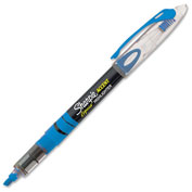 Sharpie® Accent Pen Style Liquid Highlighter, Chisel Tip, Fluorescent Blue Ink