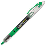 Sharpie® Accent Pen Style Liquid Highlighter, Chisel Tip, Fluorescent Green Ink