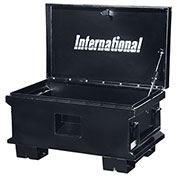 "SPG International JSB-3220BK 32"" Job Site Box, Black"