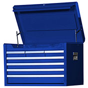 "SPG International VRT-2707BU 27"" 7-Drawer Top Chest W/Ball Bearing Slides Blue"