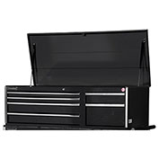 "SPG International VRT-5606BK 56"" 6-Drawer Top Chest W/ Ball Bearing Slides, Black"