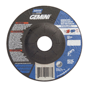 "Norton 66252842176 Gemini Right Angle Cut-Off Wheel 6"" x .048"" x 7/8"" 24 Grit Aluminum Oxide Type 27 - Pkg Qty 25"