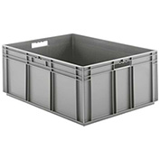 "SSI Schaefer Euro-Fix Solid Container EF8320 - 23-3/4"" x 31-1/2"" x 12-5/8"", Gray"