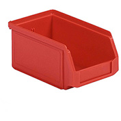 SSI Schaefer  LF060503.0RD1 - 5 x 6 x 3 LF Hopper Front Plastic Stacking Bin, Red,