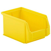 SSI Schaefer  LF090605.0YL1 - 6 x 9 x 5 LF Hopper Front Plastic Stacking Bin, Yellow,