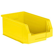SSI Schaefer  LF140806.0YL1 - 8 x 14 x 6 LF Hopper Front Plastic Stacking Bin, Yellow,