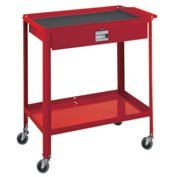 "Technician Cart- 29-1/4""W x 18-1/4""D x 34""H-Carmine Red"
