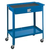 "Technician Cart- 29-1/4""W x 18-1/4""D x 34""H-Monaco Blue"