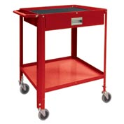 "Mini Technician Cart-22-1/4""W x 18-1/4""D x 34""H-Carmine Red"
