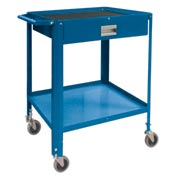 "Mini Technician Cart-22-1/4""W x 18-1/4""D x 34""H-Monaco Blue"