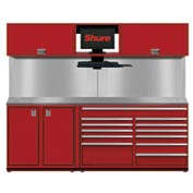 Shuretech STS-S1-8' Bench System-Carmine Red