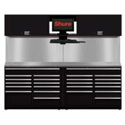 Shuretech STS-S3-8' Bench System-Gloss Black