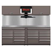 Shuretech STS-S3-8' Bench System-Pewter Grey