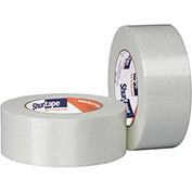 "Shurtape® GS 500 Fiberglass Reinforced Strapping Tape 2"" x 60 Yds. 5.2 Mil Clear - Pkg Qty 24"
