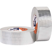 Shurtape Foil/Scrim/Kraft (Fsk) Tape, Af 982, Maximum Strength, 72mm X 46m, Silver - Pkg Qty 16