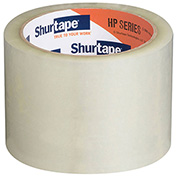 "Shurtape® HP 800 Heavy Duty Carton Sealing Tape 3"" x 55 Yds. 3.4 Mil Clear - Pkg Qty 24"