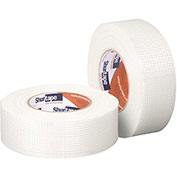"Shurtape, Open Weave Fiberglass Mesh Tape, Mj 100, Professional Grade, 3"" X 150ft, White - Pkg Qty 18"