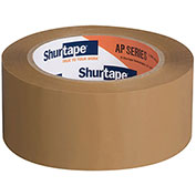 "Shurtape® Carton Sealing Tape AP180 1-1/2"" x 110 Yds 1.8 Mil Tan - Pkg Qty 36"