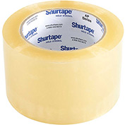 "Shurtape® AP 180 Carton Sealing Tape 3"" x 110 Yds. 1.8 Mil Clear - Pkg Qty 24"
