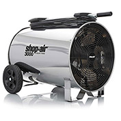 "Shop-Vac 1033200 Portable Air Circulator, 16"" Dia., 1/2 HP, 3000 CFM, 120V, 30Ft. Cord"