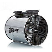 "Shop-Vac 1034100 Wall/Ceiling Mount Air Circulator, 14"" Dia., 1/3 HP, 2000 CFM, 120V, 15Ft. Cord"