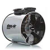 "Shop-Vac 1034200 Wall/Ceiling Mount Air Circulator, 16"" Dia., 1/2 HP, 3000 CFM, 120V, 15Ft. Cord"