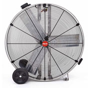 "Shop-Vac Industrial Drum Fan 1180200, 36"" Dia., 1/2 HP, Direct Drive, 11,000 CFM, Stainless Steel"