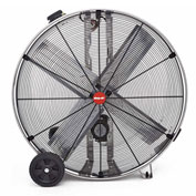 "Shop-Vac Industrial Drum Fan 1181200, 48"" Dia., 3/4 HP, Belt Drive, 22,000 CFM, Stainless Steel"